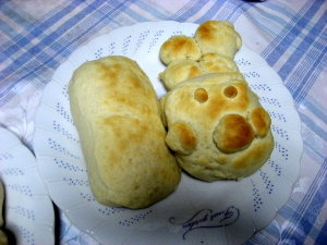 手作りパン♡ホワイトブレッド