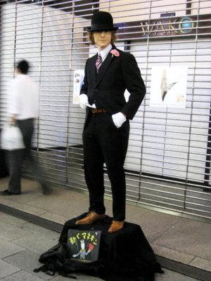 ぶらり☆銀座 動くマネキン