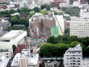 ぶらり東京♡東京タワーから見る景色