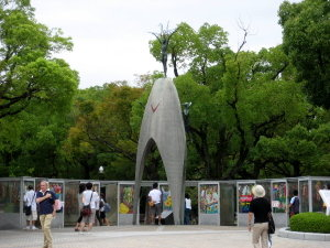 平和の塔♡平和の鶴の像