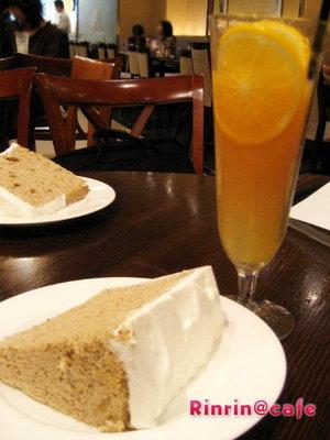 Rinlin Cafe♡紅茶のシフォンケーキ