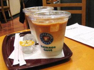 EXCELSIOR CAFFE☆新橋