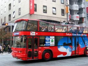 銀座♡観光二階建てバス