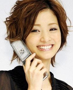 ソフトバンク/ティファニーのコラボ携帯電話