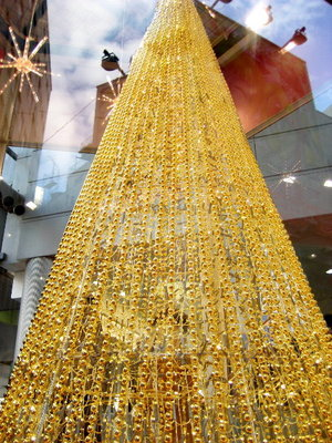 渋谷♡マークシティーのクリスマスツリー