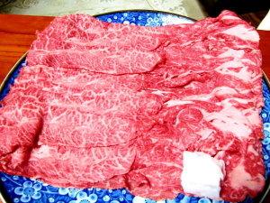 お呼ばれご飯♡飛騨牛のすき焼き