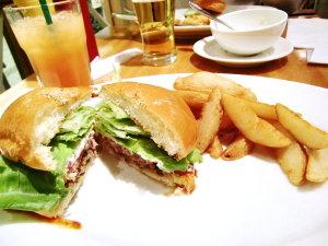 銀座でランチ♡ハンバーガー