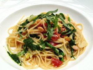 ランチ♡春野菜のパスタ