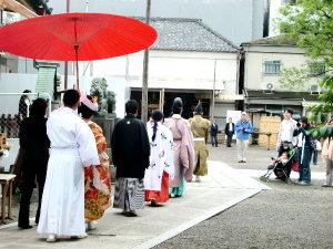東京観光☆浅草神社での結婚式