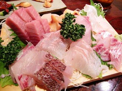 お魚いっぱい料理★「廣正」<1人前のお刺身>