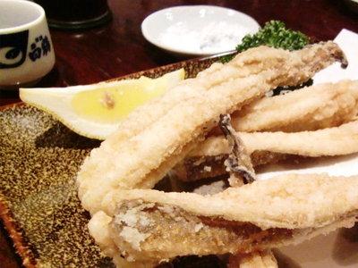 お魚いっぱい料理★「廣正」<穴子の唐揚げ>