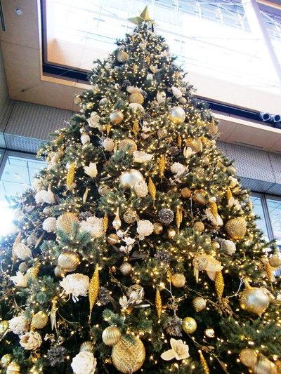 丸ビルのクリスマス・ツリー