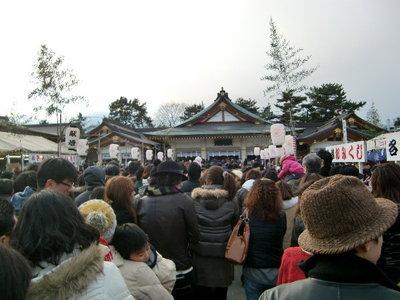 2010年 広島・護国神社へ初詣