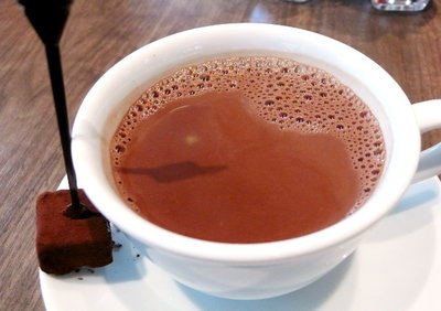 チョコレートドリンク<シャルロッテ チョコレート ファクトリー>